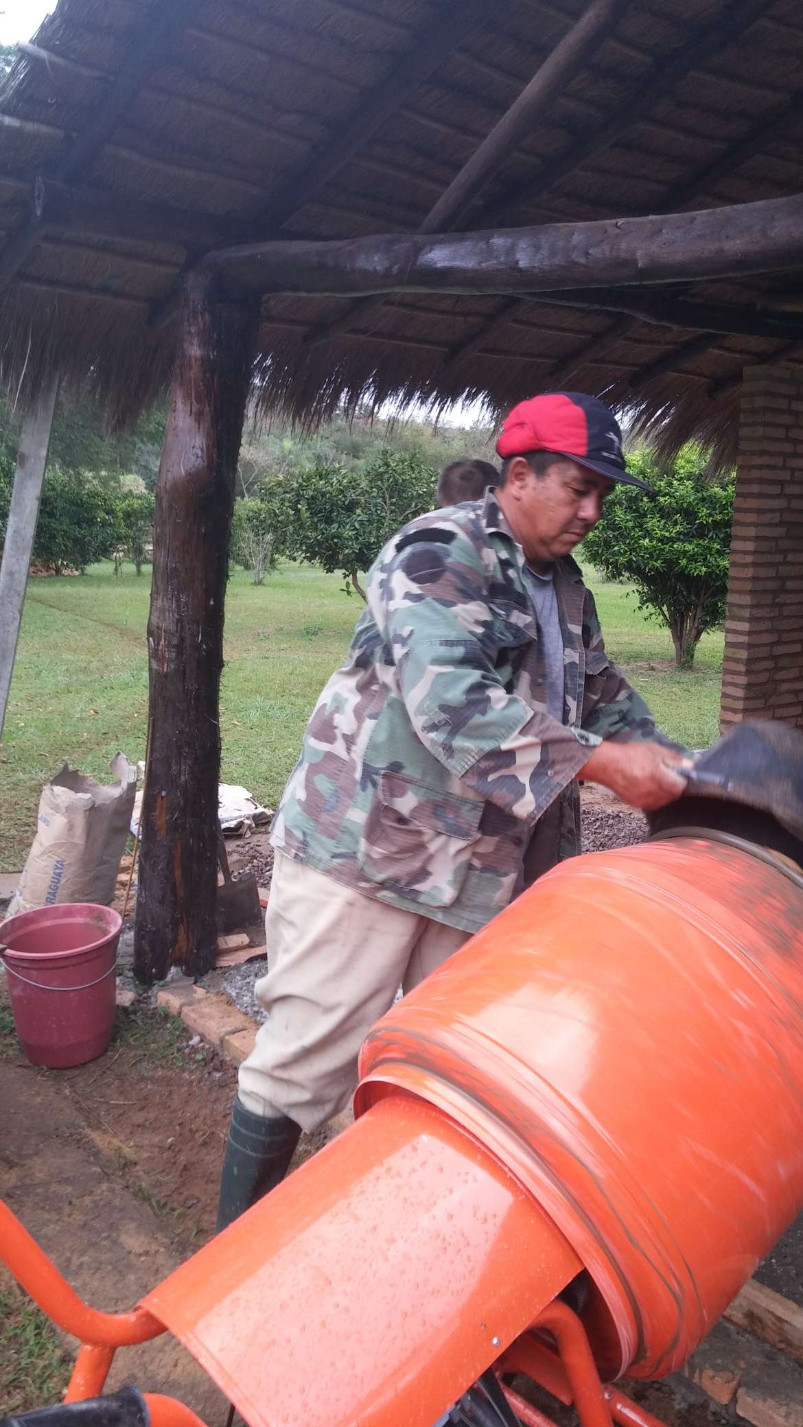 Maschendrahtbeton | Paraguay-Gabi